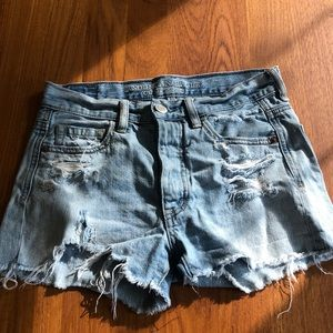 American Eagle Distressed 00 Shorts